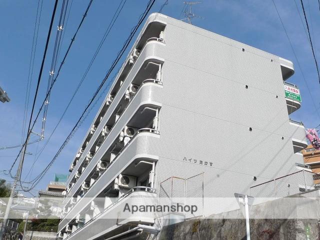 広島県広島市西区、東高須駅徒歩10分の築27年 4階建の賃貸マンション