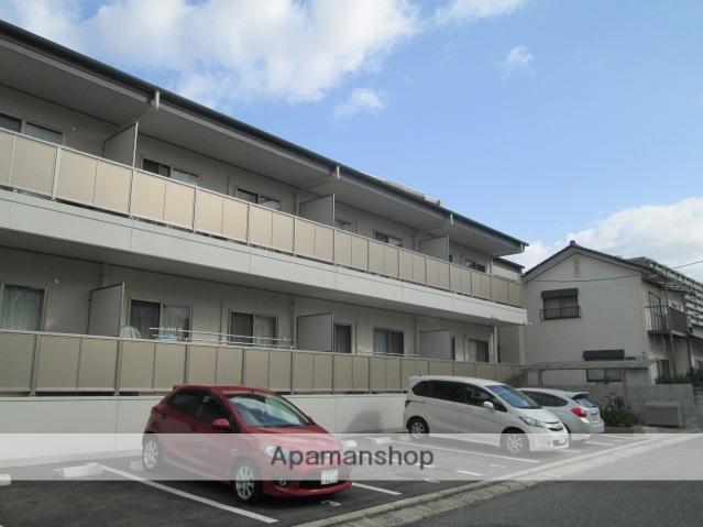 広島県広島市西区、新井口駅徒歩10分の築3年 2階建の賃貸アパート