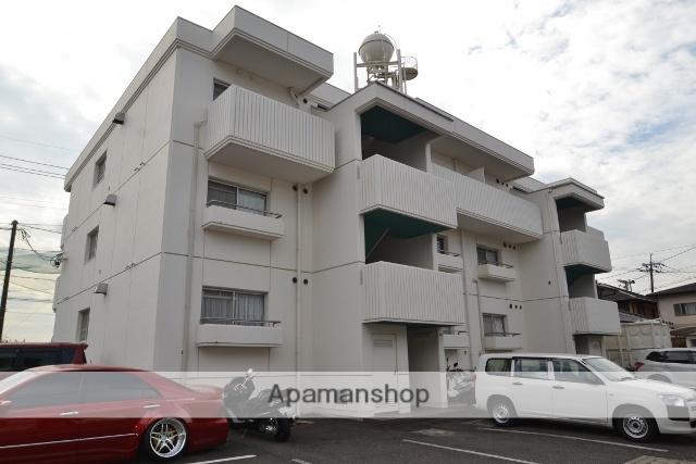 広島県広島市佐伯区、楽々園駅徒歩13分の築33年 3階建の賃貸マンション