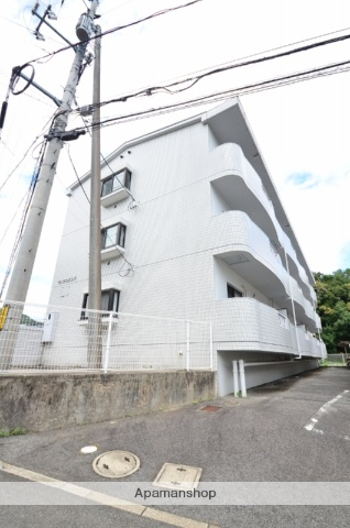 広島県広島市安佐南区、安東駅徒歩11分の築24年 3階建の賃貸マンション