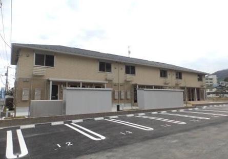 広島県大竹市、大竹駅徒歩9分の築3年 2階建の賃貸アパート