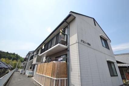 広島県廿日市市、廿日市駅徒歩17分の築19年 2階建の賃貸アパート