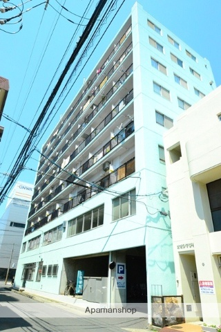 広島県広島市西区、舟入本町駅徒歩20分の築39年 8階建の賃貸マンション