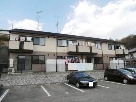 広島県廿日市市、宮島口駅徒歩9分の築20年 2階建の賃貸アパート