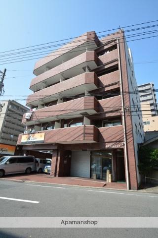 広島県広島市西区、横川駅徒歩6分の築35年 5階建の賃貸マンション