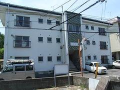 広島県広島市安佐南区、西原駅徒歩15分の築38年 3階建の賃貸マンション