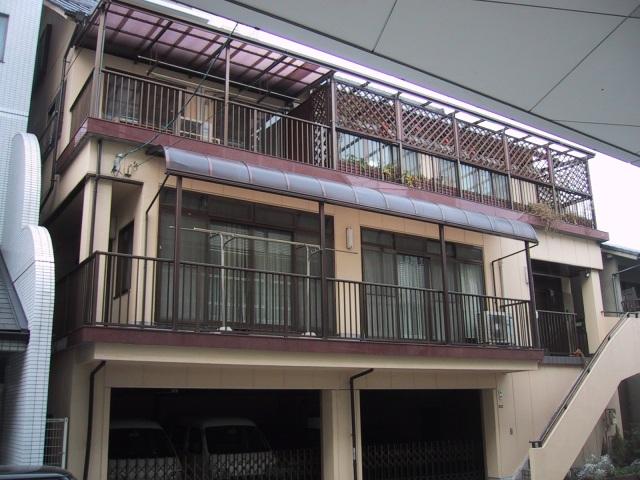 広島県広島市南区、比治山橋駅徒歩13分の築28年 3階建の賃貸マンション