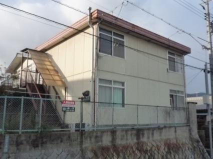 広島県廿日市市、地御前駅徒歩19分の築32年 2階建の賃貸アパート