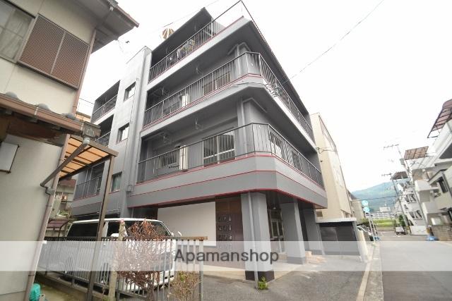 広島県広島市西区、横川駅徒歩6分の築36年 4階建の賃貸マンション