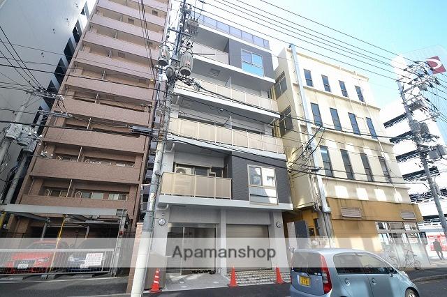 広島県広島市中区、八丁堀駅徒歩3分の新築 6階建の賃貸マンション