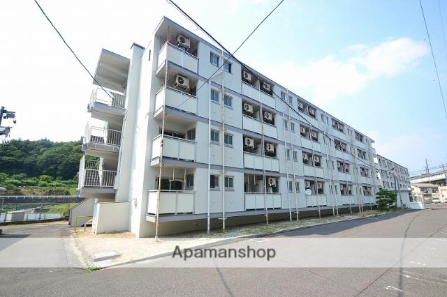 広島県廿日市市、宮島口駅徒歩22分の築54年 4階建の賃貸マンション