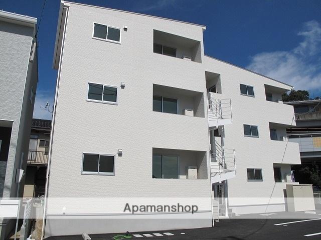 広島県広島市安佐南区、長楽寺駅徒歩17分の新築 3階建の賃貸アパート