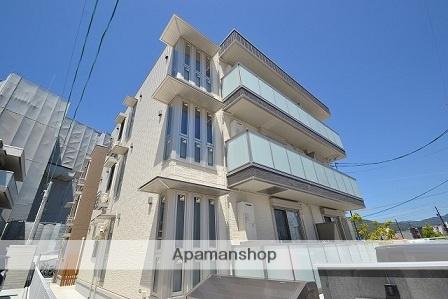 広島県広島市佐伯区、楽々園駅徒歩11分の新築 3階建の賃貸アパート