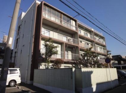 広島県広島市南区、宇品二丁目駅徒歩9分の築47年 4階建の賃貸マンション