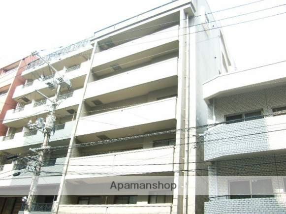 広島県広島市中区、稲荷町駅徒歩7分の築20年 8階建の賃貸マンション