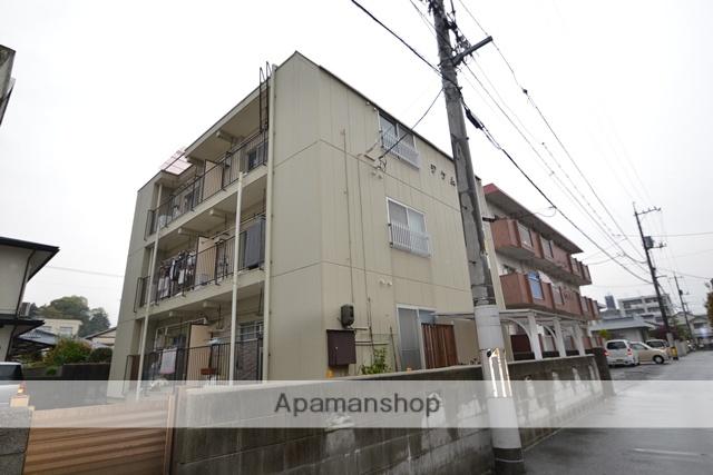 広島県広島市佐伯区、楽々園駅徒歩8分の築30年 3階建の賃貸マンション