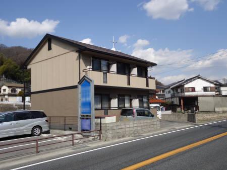 広島県広島市安芸区の築21年 2階建の賃貸アパート