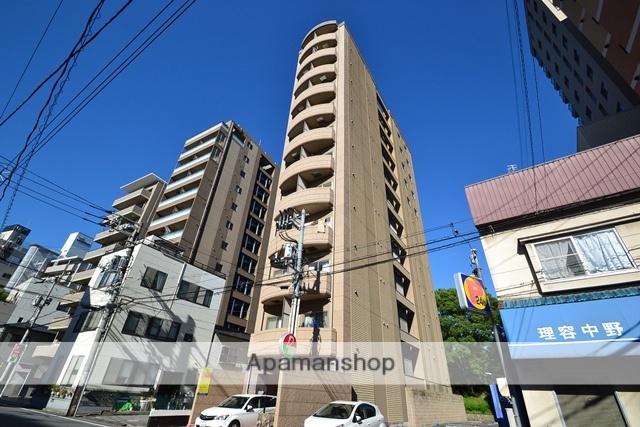 広島県広島市中区、稲荷町駅徒歩10分の築9年 12階建の賃貸マンション