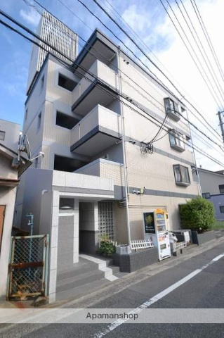 広島県広島市西区、横川駅徒歩14分の築27年 4階建の賃貸マンション