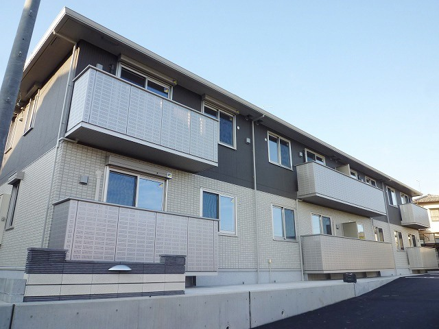 広島県広島市安佐南区、上安駅徒歩13分の築4年 2階建の賃貸アパート