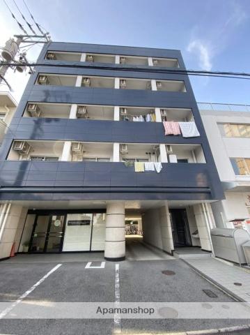 広島県広島市西区、五日市駅徒歩11分の築25年 5階建の賃貸マンション