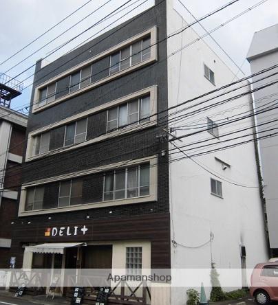 広島県広島市西区、横川駅徒歩8分の築43年 4階建の賃貸マンション