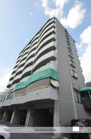 広島県広島市安佐南区、大町駅徒歩15分の築21年 9階建の賃貸マンション