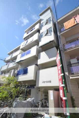 広島県広島市西区、横川駅徒歩8分の築33年 5階建の賃貸マンション
