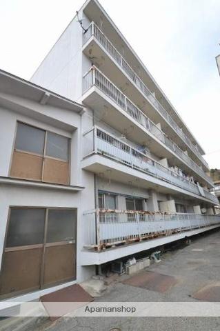 広島県広島市南区、宇品二丁目駅徒歩17分の築41年 4階建の賃貸マンション