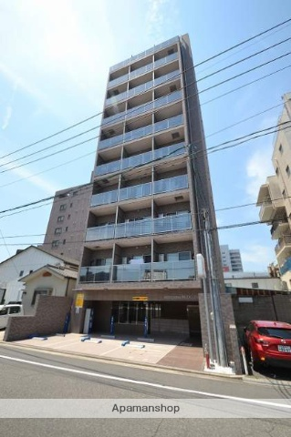 広島県広島市中区、縮景園前駅徒歩10分の築3年 10階建の賃貸マンション