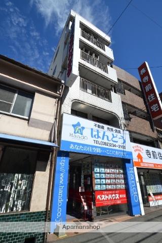 広島県広島市西区、城北駅徒歩10分の築28年 5階建の賃貸マンション