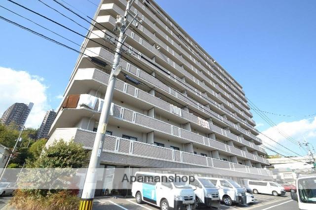 広島県広島市西区、横川駅徒歩12分の築22年 11階建の賃貸マンション