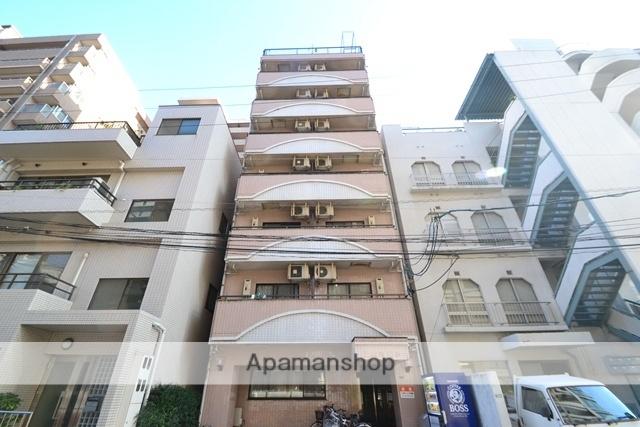 広島県広島市中区、銀山町駅徒歩8分の築26年 9階建の賃貸マンション