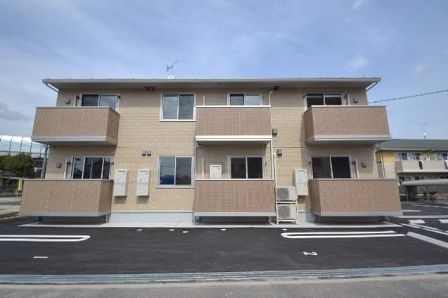広島県広島市安佐南区、安芸矢口駅徒歩13分の築1年 2階建の賃貸アパート
