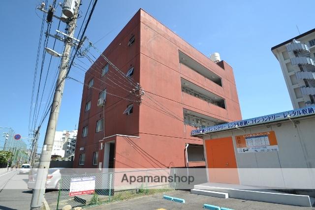 広島県広島市東区、広島駅徒歩10分の築39年 4階建の賃貸マンション