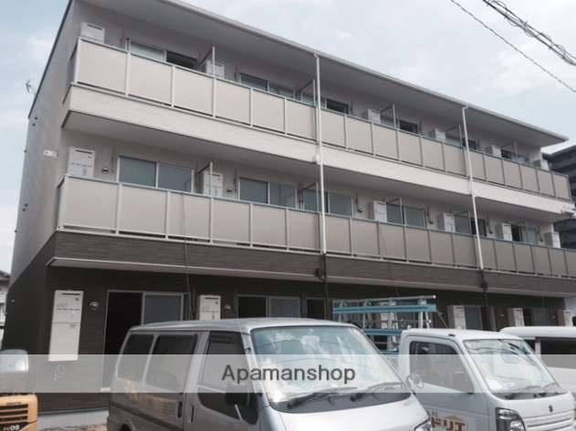 広島県広島市安佐南区、安芸長束駅徒歩12分の新築 3階建の賃貸アパート