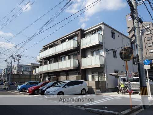 広島県広島市安佐南区、古市橋駅徒歩8分の新築 3階建の賃貸アパート