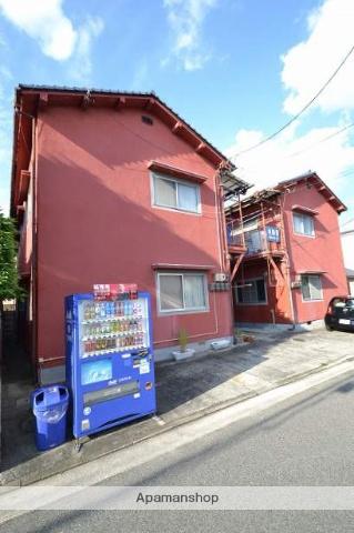広島県広島市南区、南区役所前駅徒歩10分の築42年 2階建の賃貸アパート