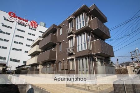 広島県安芸郡海田町、海田市駅徒歩4分の新築 3階建の賃貸アパート