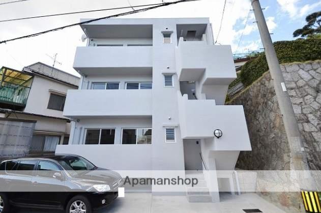 広島県広島市南区、県病院前駅徒歩25分の築2年 3階建の賃貸マンション