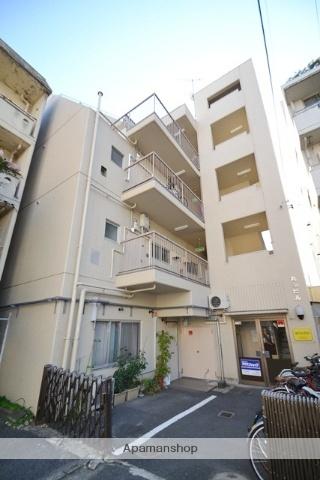 広島県広島市西区、横川駅徒歩3分の築44年 4階建の賃貸マンション