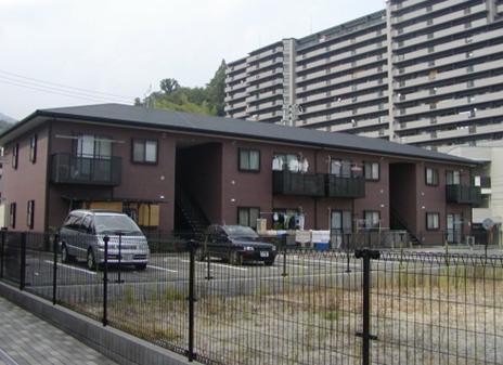 広島県広島市佐伯区、山陽女子大前駅徒歩15分の築16年 2階建の賃貸アパート