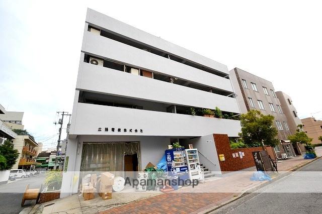 広島県広島市中区、御幸橋駅徒歩3分の築48年 4階建の賃貸マンション