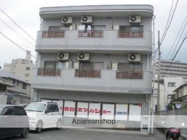 広島県広島市安佐南区、大町駅徒歩13分の築25年 3階建の賃貸マンション