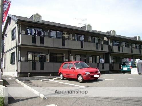 広島県広島市安芸区、中野東駅徒歩10分の築18年 2階建の賃貸アパート
