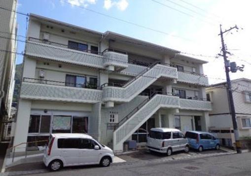 広島県広島市安芸区、中野東駅徒歩3分の築23年 3階建の賃貸マンション