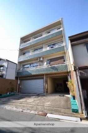 広島県広島市南区、元宇品口駅徒歩7分の築38年 4階建の賃貸マンション