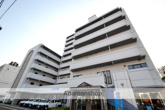 広島県広島市中区、市役所前駅徒歩9分の築28年 10階建の賃貸マンション