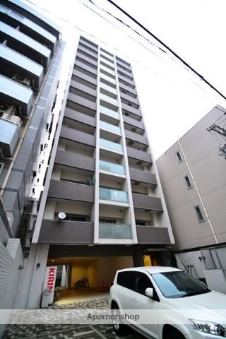 広島県広島市中区、新白島駅徒歩6分の築11年 13階建の賃貸マンション