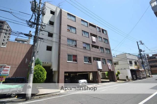 広島県広島市中区、城北駅徒歩10分の築44年 5階建の賃貸マンション